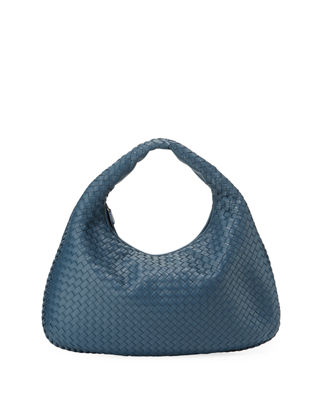 Image 1 of 3: Veneta Intrecciato Large Hobo Bag