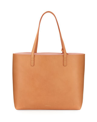 Mansur Gavriel Large Vegetable-Tanned Leather Tote Bag
