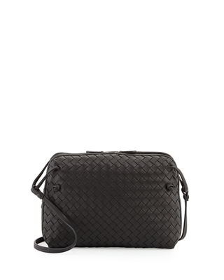 Intrecciato Double-Compartment Bag