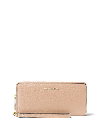 MICHAEL Michael Kors Mercer Leather Continental Wristlet