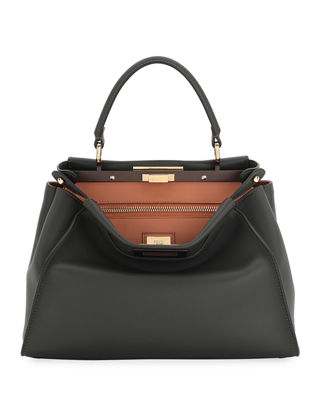 Fendi Peekaboo Medium Bicolor Tote Bag