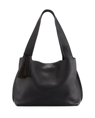Image 1 of 3: Duplex Calfskin Hobo Bag