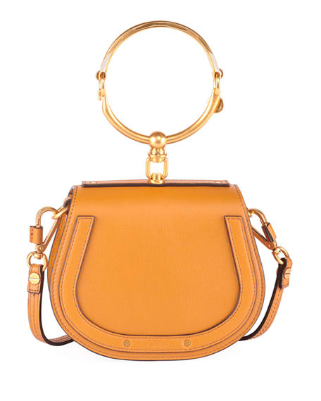 Image 1 of 6: Chloe Nile Small Bracelet Crossbody Bag