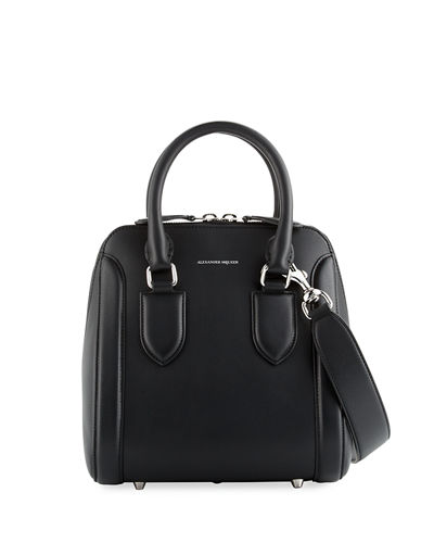 Alexander McQueen Heroine Medium Bugatti Shoulder Bag