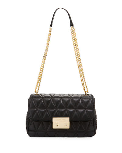 Sloan Quilted Leather Shoulder Bag