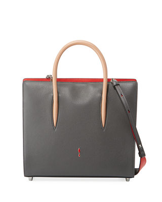 Christian Louboutin Paloma Medium Spike Leather Tote Bag