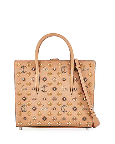 Christian Louboutin Paloma Medium Mixed-Stud Tote Bag