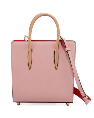 Image 1 of 3: Paloma Small Spike Leather Tote Bag