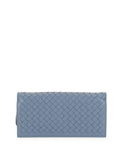 Bottega Veneta Intrecciato Flap Wallet-on-Chain