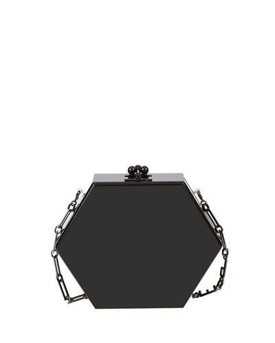 Macy Solid Hexagonal Clutch Bag