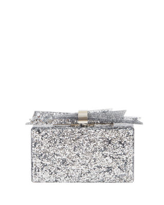 Image 2 of 4: Wolf Shard Marbled Resin Clutch Bag