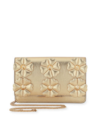 Fendi Tube Floral Wallet-on-Chain