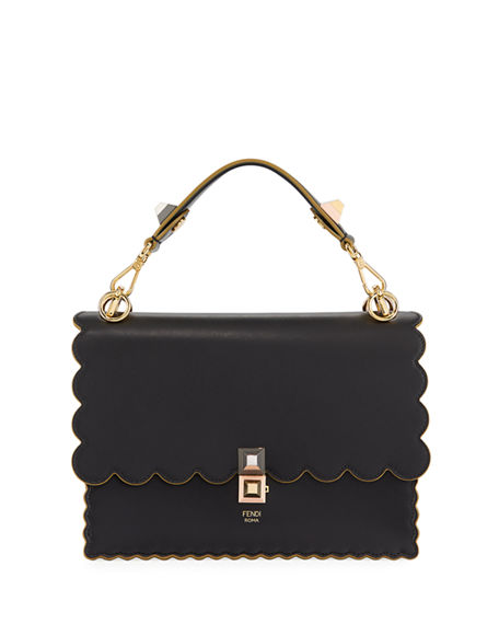 Fendi Kan I scalloped handbag Clearance Online Discount Perfect Classic Cheap Online Buy Cheap Amazing Price e7KGoXrSV