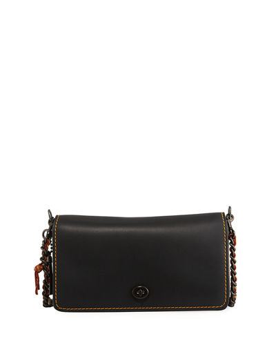 Coach 1941 Dinky Small Leather Crossbody Bag