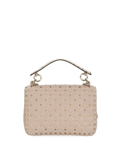 Rockstud Medium Quilted Shoulder Bag