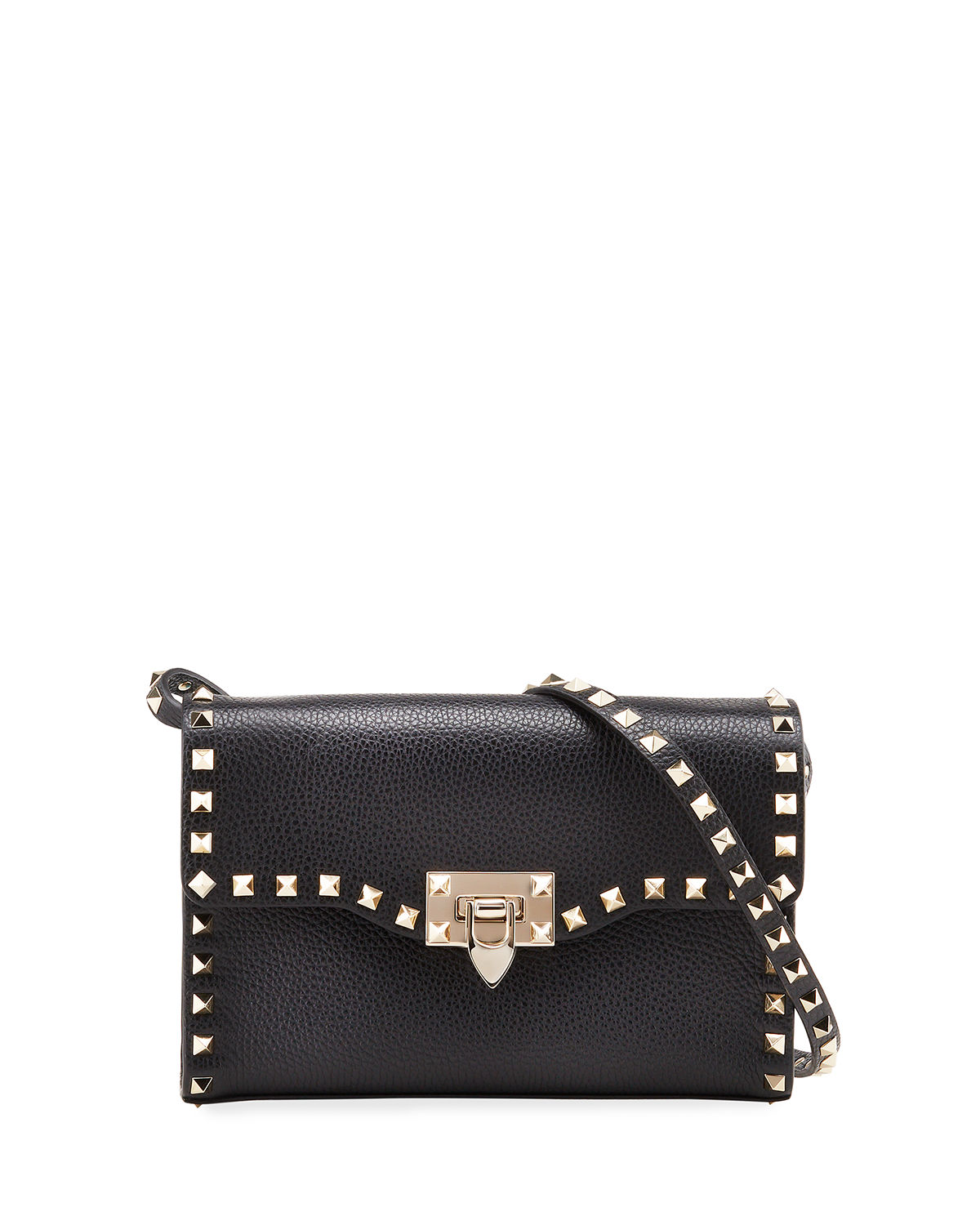 8c6805b318bb5 Valentino Garavani Rockstud Medium Shoulder Bag