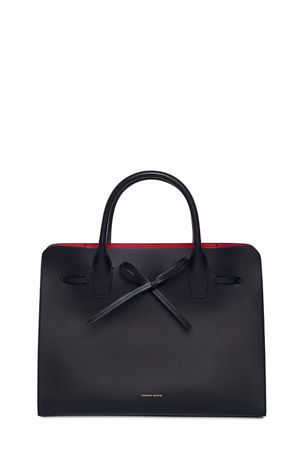 Mansur Gavriel Drawstring Vegetable-Tanned Sun Tote Bag