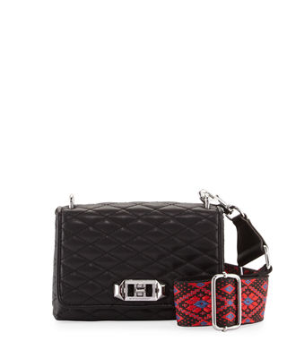 Rebecca Minkoff Love Small Quilted Crossbody Bag