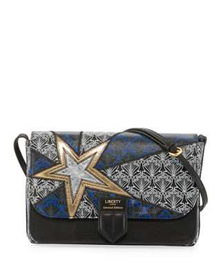 Liberty London Stars New Canvas Crossbody Bag