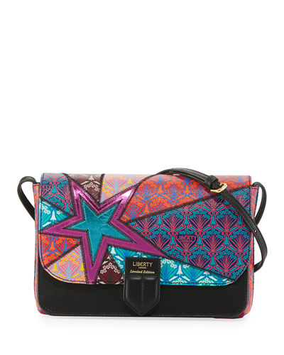Stars New Canvas Crossbody Bag
