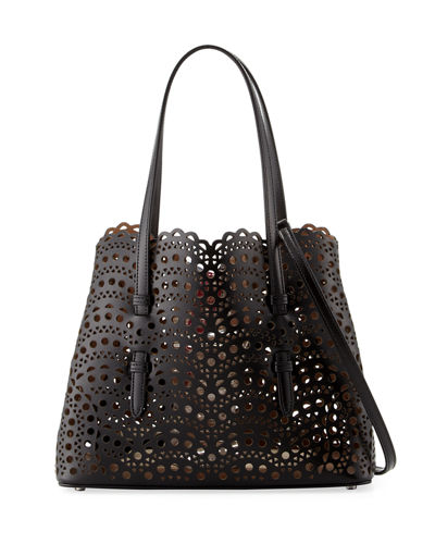 Alaïa  VERY CLASSIC LASER CUT MINI TOTE BAG