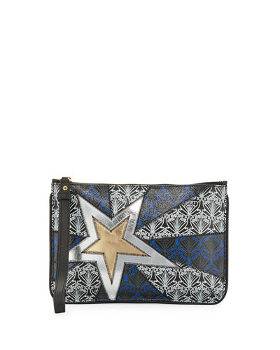 Stars Iphis Zip-Top Wristlet Bag