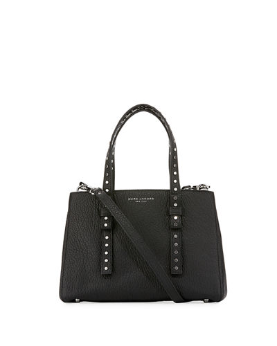 Marc Jacobs Mini T Stud Pebbled Tote Bag