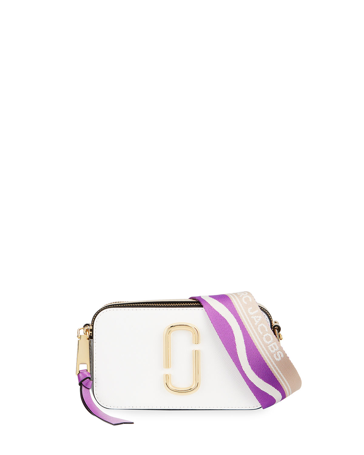 The Marc Jacobs Leathers SNAPSHOT COLORBLOCK CAMERA BAG