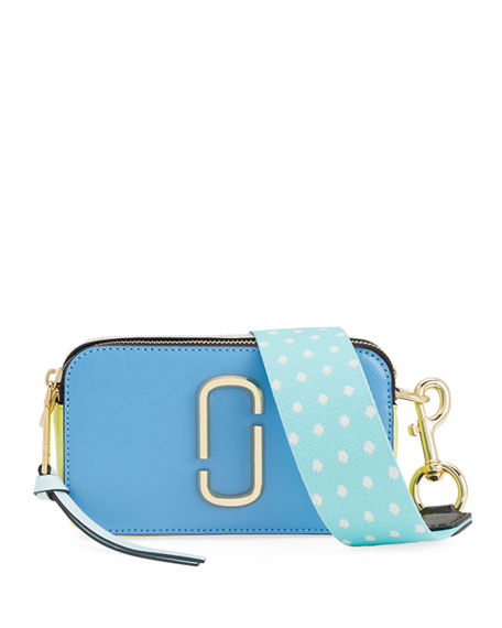 Marc Jacobs Leathers Snapshot Colorblock Camera Bag