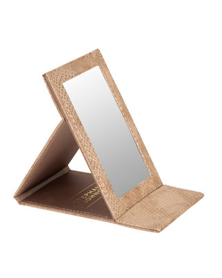 Image 1 of 4: Havana White Folding Mirror