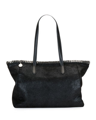 Image 1 of 4: Falabella Shaggy Deer East-West Small Tote Bag