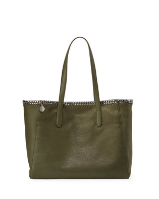 Stella McCartney Falabella Shaggy Deer East-West Small Tote