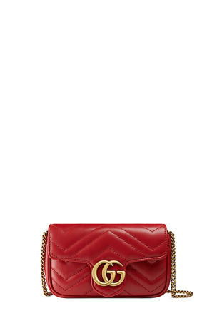 Gucci GG Marmont Matelasse Leather Super Mini Bag