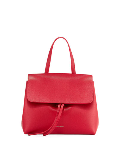 Mini Lady Saffiano Satchel Bag