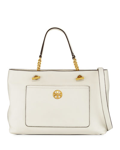 Tory Burch Chelsea Leather Satchel Bag
