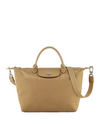 Image 1 of 4: Le Pliage Neo Medium Handbag with Strap