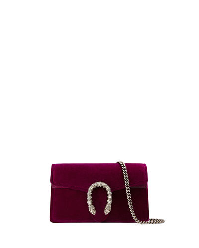 Dionysus Velvet Super Mini Bag