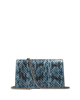 Image 3 of 3: Dionysus Snakeskin Super Mini Bag