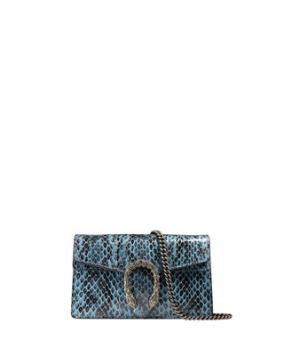 Image 1 of 3: Dionysus Snakeskin Super Mini Bag