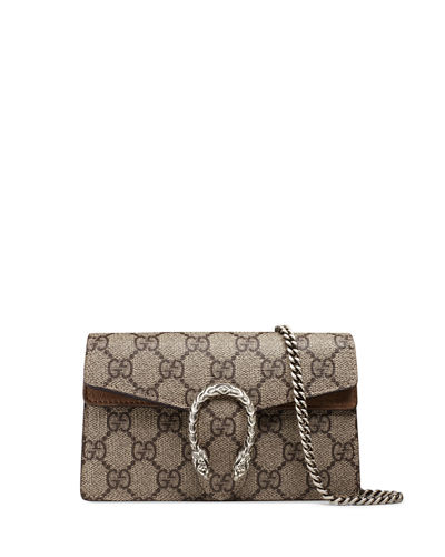Gucci Dionysus GG Supreme Super Mini Bag
