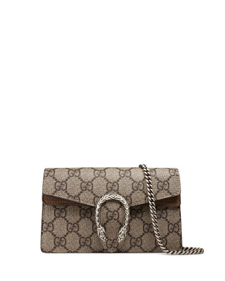 2eea975543 Gucci Dionysus GG Supreme Super Mini Bag | Neiman Marcus