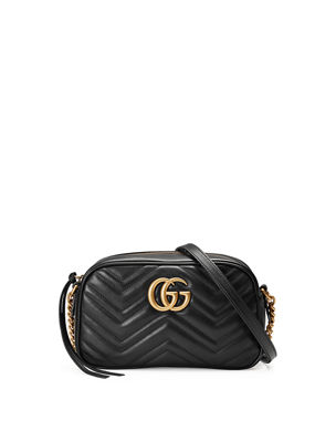 e1650a5a8d89 Gucci GG Marmont Small Quilted Camera Bag