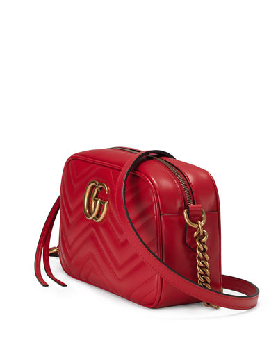 Gucci GG Marmont Small Quilted Camera Bag