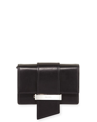 Prada Small Metal Ribbon Bag