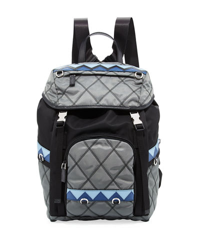 Prada Tessuto Imputurato Backpack