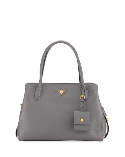 Prada Medium Vitello Daino Top-Handle Bag
