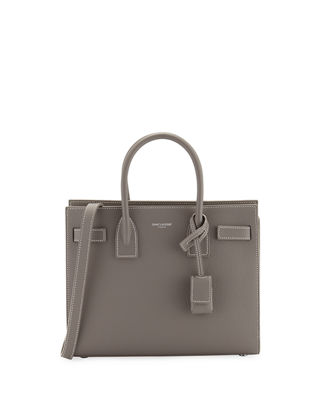 Image 1 of 4: Sac de Jour Baby Grain Leather Tote Bag