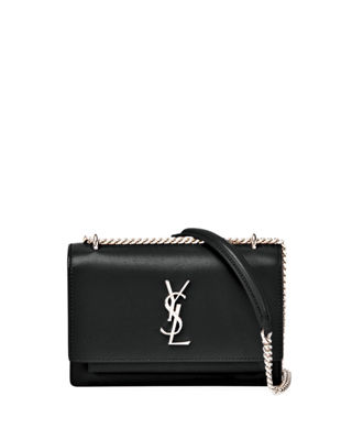 Image 1 of 3: Sunset Monogram Small Calf Leather Wallet on Chain