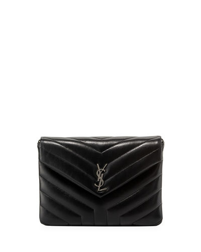 Saint Laurent Loulou Mini Monogram Crossbody Bag