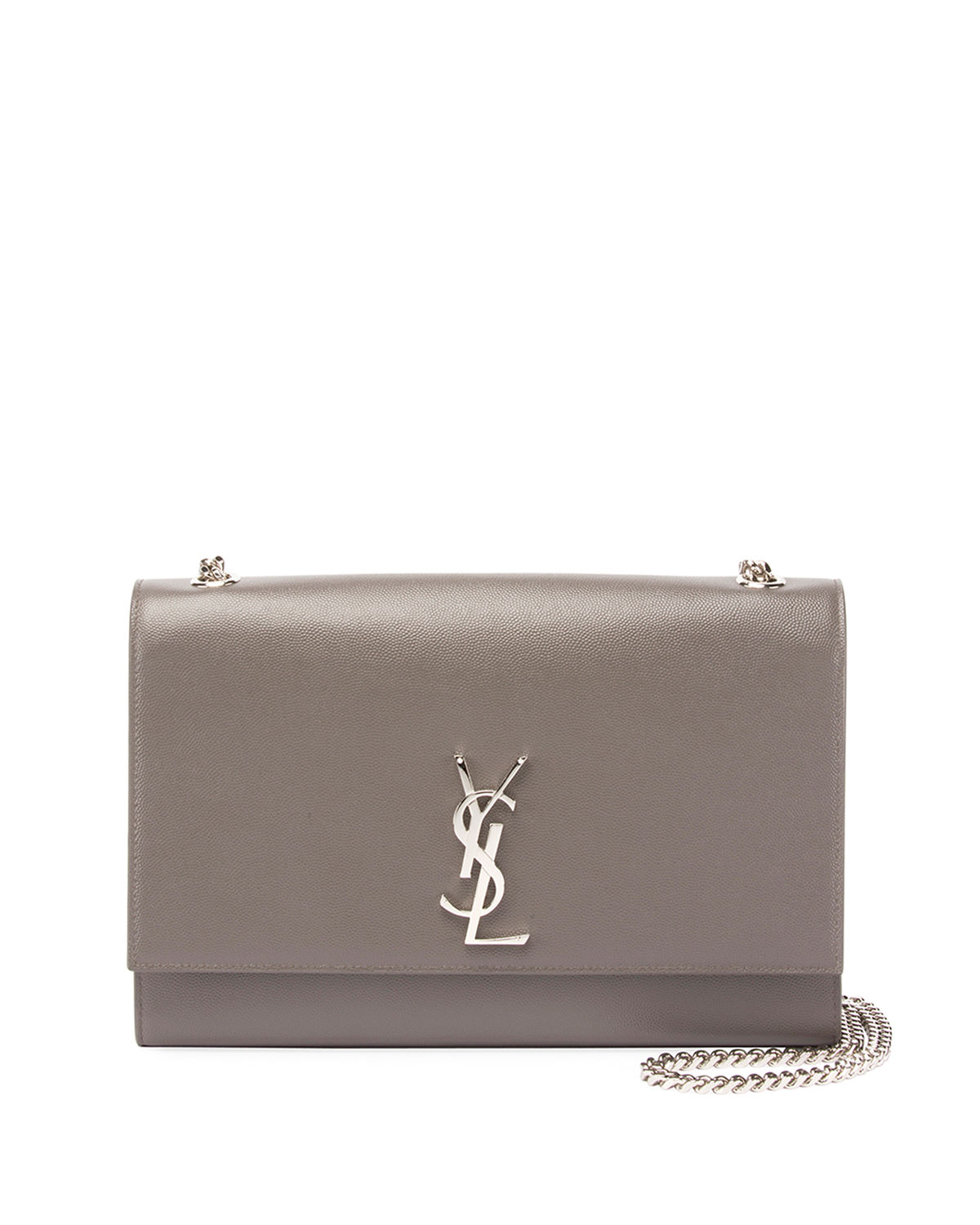 Kate Monogram Medium Grain Leather Wallet on Chain